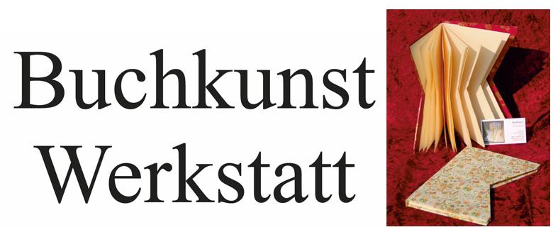 Logo: Buchkunst - Werkstatt