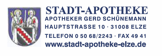Logo: Stadt-Apotheke Elze