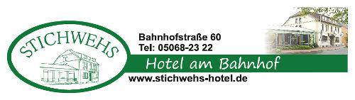 Logo: Stichwehs Hotel am Bahnhof