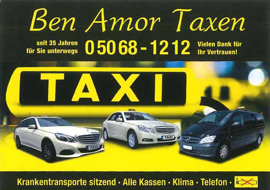 Logo: Ben Amor Taxen