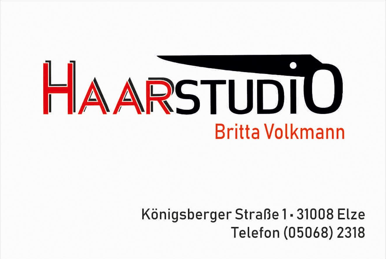 Logo: Haarstudio Britta Volkmann