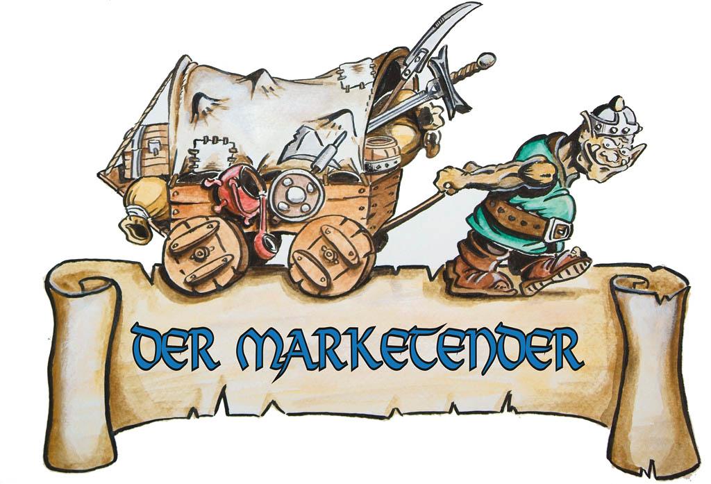Logo: Der Marketender